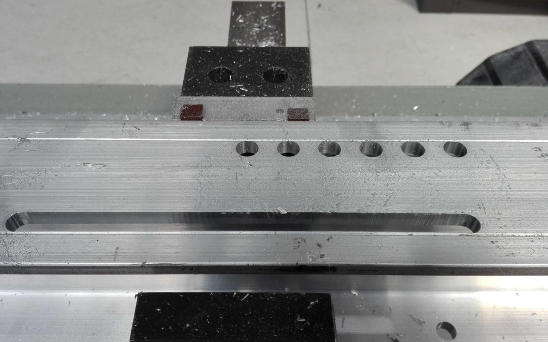 Testujemy nowe frezy do obróbki aluminium oraz stali
