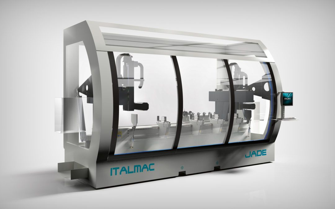 Nowe kompaktowe centrum obróbcze: JADE