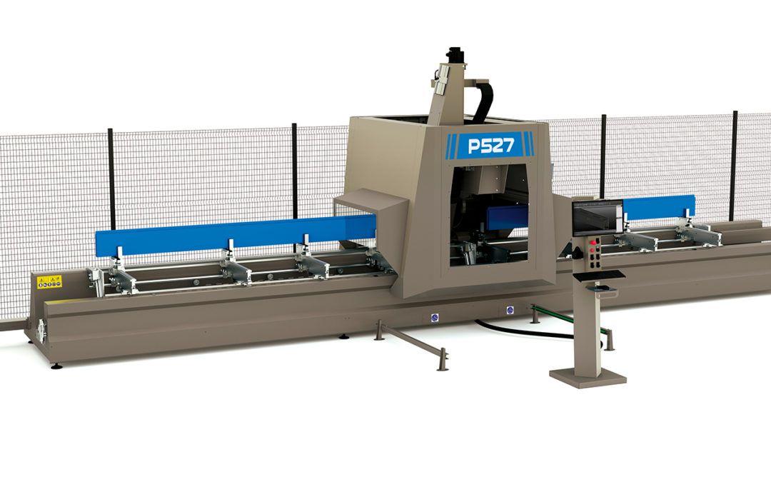 5-osiowe centrum przemyslowe CNC do aluminium – model P527